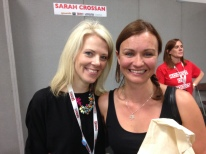 With Sarah Crossan