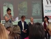 Frances Hardinge, Philip Reeve & Tanya Landman