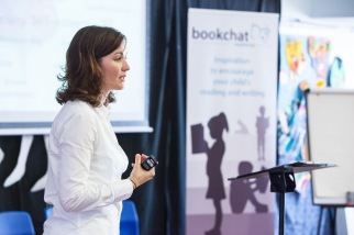Speaking at the Bookchat Roadshow