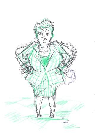 Mrs Good sketch