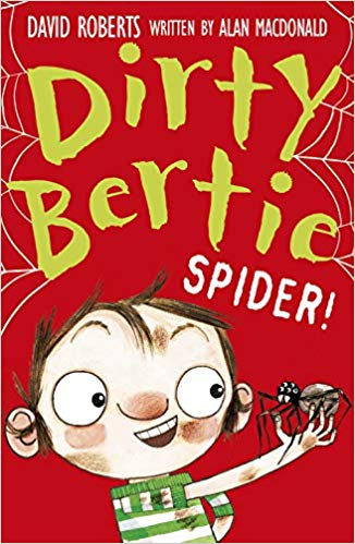 dirty bertie spider