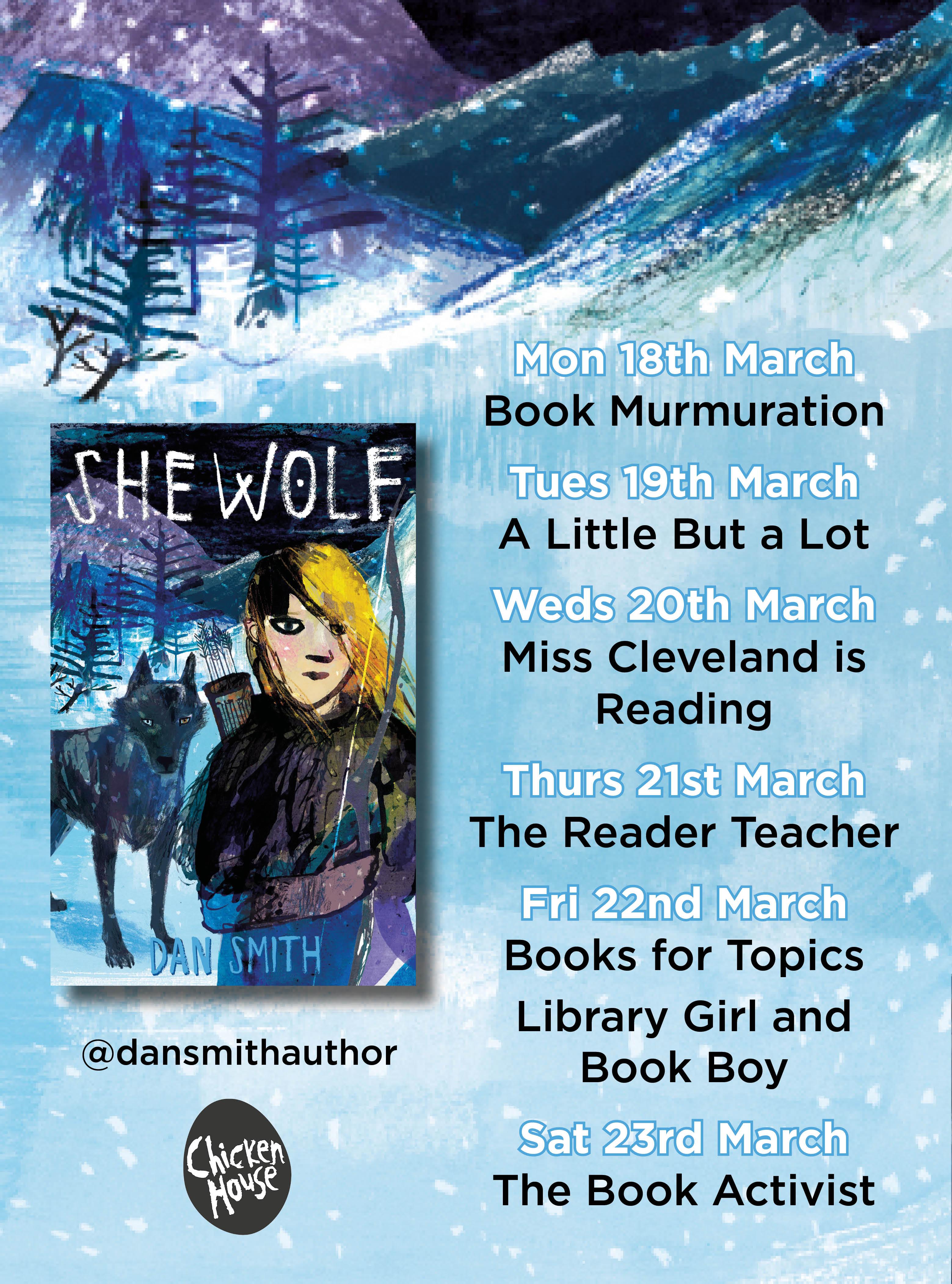 She Wolf blog tour banner
