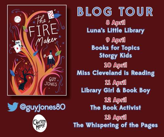 Fire Maker blog tour banner FINAL
