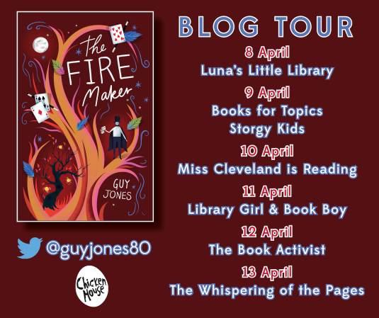Fire Maker blog tour banner FINAL