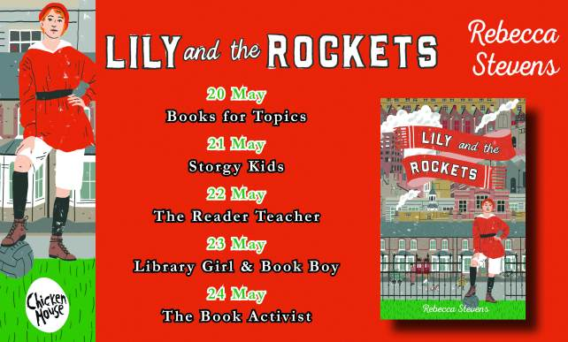 Lily & the Rockets blog tour banner