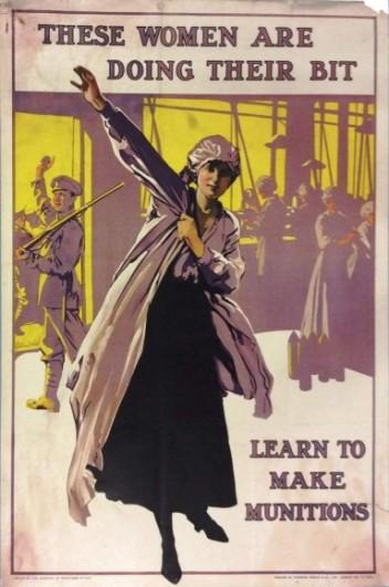 munitionette poster