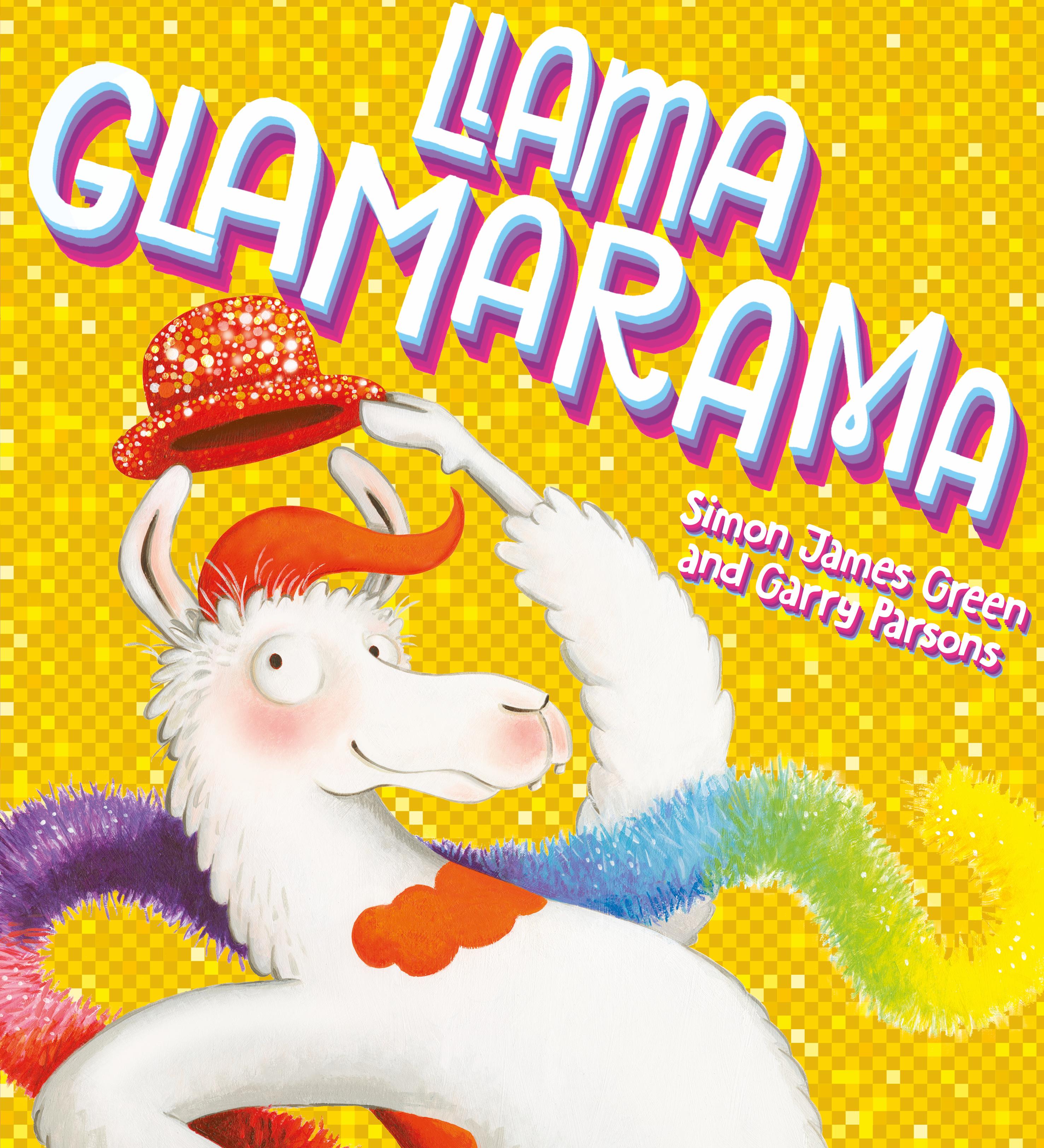Llama Glamarama-cover